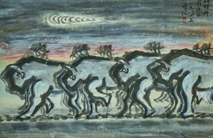 청강 김영기-새벽의 전진6, 1984